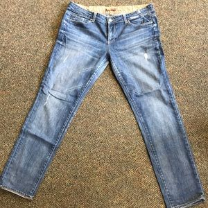 Paige distressed jeans in 31